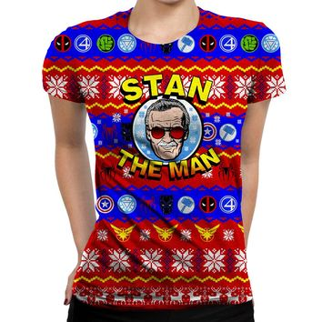 Stan The Man Womens T-Shirt