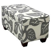 Seedling by Thomas Paul Storage Ottoman - Dec Rose Gray