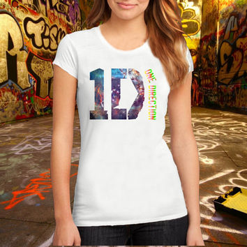 One Direction Logo T Shirt Printed T Shirt, Women T Shirt, (Various Color Available)