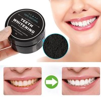 Activated soot _ teeth whitening black bamboo charcoal toothpaste stains [11548647884]