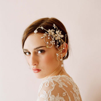 Hair Accessories Headwear Rhinestone Accessory Crystal Wedding Dress [10688895431]
