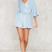 Too Deep Knit Romper