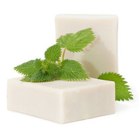 Rosemary-Nettle handmade olive oil soap for hair
