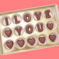 I Love YouCustom His Her Your NameLarge Milk by chocolatesays