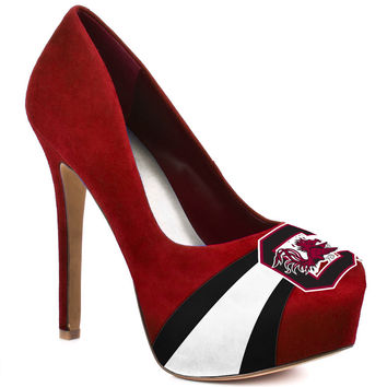 HERSTAR™ Women's South Carolina Gamecocks Microsuede Pumps