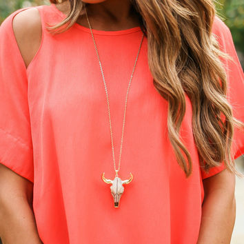 MEGHAN BO DESIGN - Longhorn Necklace