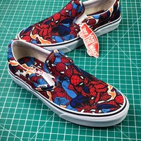 Marvel X Vans Og Classic Slip On Shoes - Best Online Sale