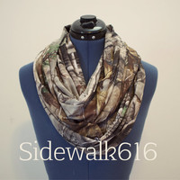 Camo Infinity Scarf Circle Scarf