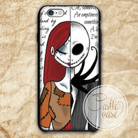 Jack and Sally Before Christmas iPhone 4/4S, 5/5S, 5C Series, Samsung Galaxy S3, Samsung Galaxy S4, Samsung Galaxy S5 - Hard Plastic, Rubber Case