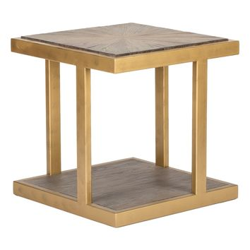 Classic Home Galia Reclaimed Elm End Table | Nordstrom