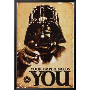 Art.com - Star Wars - Your Empire Needs You Framed Poster : Target