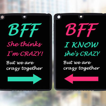 iPad Air Case,BFF,best friends forever,in pair case,two pcs,iPad Mini 2,iPad Mini Case,iPad 4 Case,New iPad Case,iPad2 Case,iPad Air Cases
