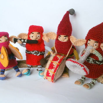 Gnomes ,funny gnomes ,Little Man ,gifts for kids ,unique Kids ,crochet toy ,gnome doll ,dwarves