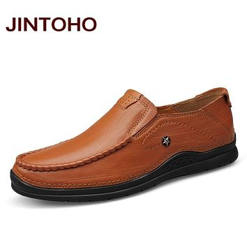 Men Shoes Leather Men Glitter Genuine Leather Men Flats Shoes Designers Male Shoes