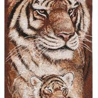 Hanging Tapestry - Tiger Family