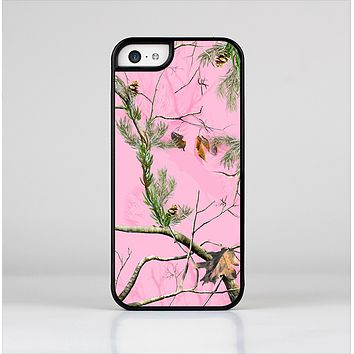 The Pink Real Camouflage Skin-Sert for the Apple iPhone 5c Skin-Sert Case