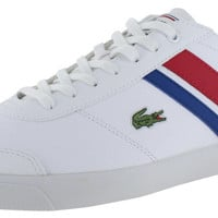 Lacoste Comba Men's Leather Tennis Court Sneakers Shoes Retro