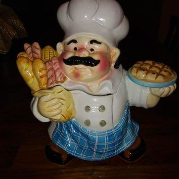 International Art Chef Cookie Jar