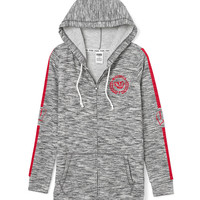 University of Wisconsin Full-Zip Tunic Hoodie