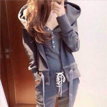 Leisure suit Hooded Sweater