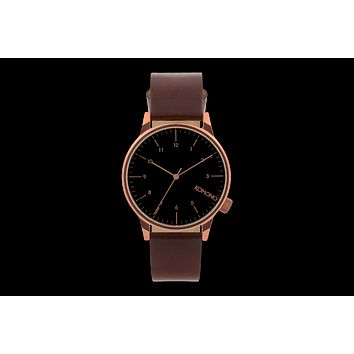 Komono - Winston Regal Burgundy Watch