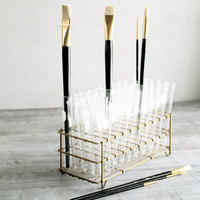 Etsy Transaction -          RESERVED Vintage Lab Rack with Test Tubes
