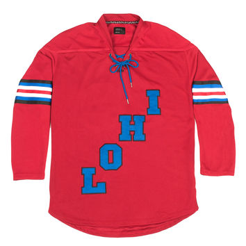 LoHi Boutique Hockey Jersey Red