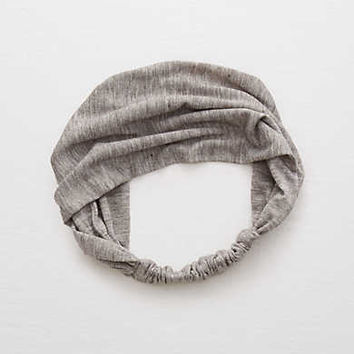 Aerie Wide Headband, Medium Heather