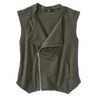 Mossimo® Women's Knit Vest w/ Studs -Olive