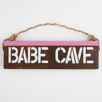 Babe Cave Sign 252925423 | Room & Dorm