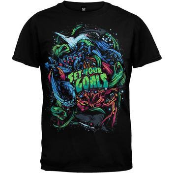 Set Your Goals - Sea Life Youth T-Shirt