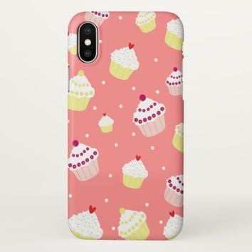 Claire Blossom Sweet cake iPhone X Case