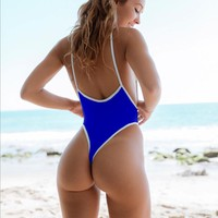 women high quality sexy solid badysuit New summer push up bathingsuit maillot de bian hot swimwear brazilian swimsuit
