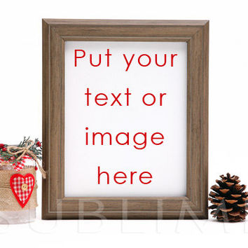 Styled Stock Photography / mock up / Christmas Styled / Digital Background / Empty Frame / Instant Download / JPEG Image / StockStyle-301