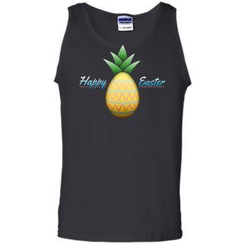Happy Easter Pineapple Disguised Egg T-Shirt Tank Top