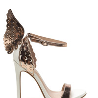 Give You Wings Ankle Strap Heels