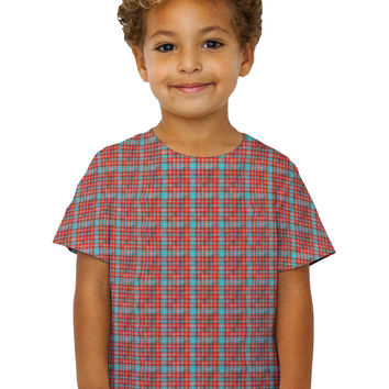 Kids Hipster Red Flannel