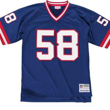 Mitchell & Ness Carl Banks 1986 Replica Jersey New York Giants In Royal - Beauty Ticks