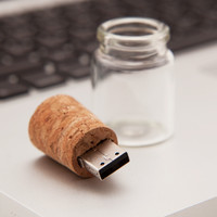 Message In a Bottle USB - 4GB - See Jane Work