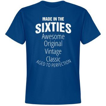 Made in the sixties birthday shirt