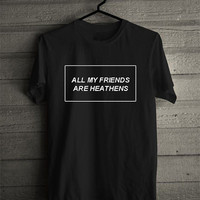 Twenty One Pilots: Heathens Lyric Tee