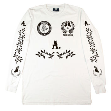 WHITE SUBSTANCE LONG SLEEVE
