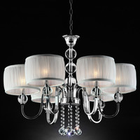 House of Hampton Becquere 6 Light Drum Chandelier