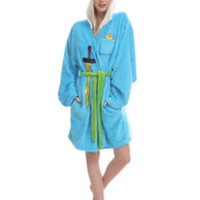 Adventure Time Finn Girls Hooded Robe