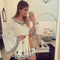Retro Womens Summer Loose Dress Gift 06