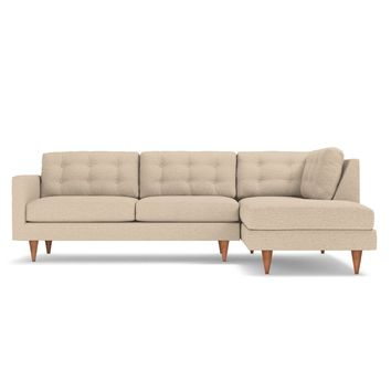 Logan 2pc Sectional LAF in WOVEN BEACH
