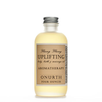 Uplifting Ylang Ylang Body, Bath, Massage Oil & Aromatherapy
