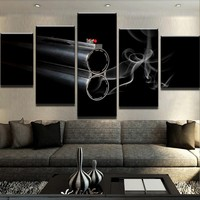 Smoking Gun Canvas Set
