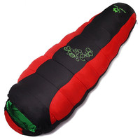 1150G Night Sleeping Bag Outdoor Winter Warm Down Envelope Bag Single Sport Camping Hiking Equipment Accessories