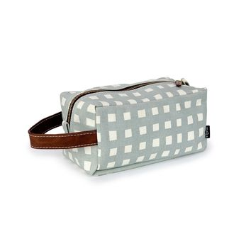 NEW! Dopp Travel Case - Flores
